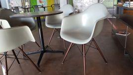 Vitra - Set Eames eetkamerstoelen